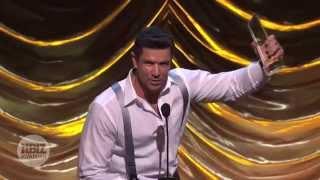 2014 XBIZ Awards -Original Sinner Lucas Entertainment Wins 'Gay Movie of the Year' Award