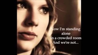 Taylor Swift - The Story of us (Lyrics)