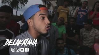 KM3 vs TALIMAN Batalla Freestyle de Exhibición #DeLaKatana