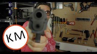 He's got a gun!