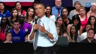 President Obama on Free Speech on Campus - 9/14/2015