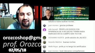 Que te hace mejor técnico 38 programa tv 2 de mayo 2018 Prof Guillermo Orozco