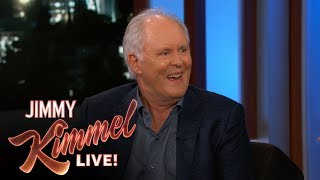 Jimmy Kimmel Surprises John Lithgow with Baby from Movie