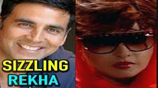 Rekha Sizzling Scene With Akshay Kumar