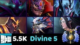 DIVINE 5 TOP 50 SPEC/VENG/LION BLUE SPAN DOTA 2 DAILY STREAM 7AM PST