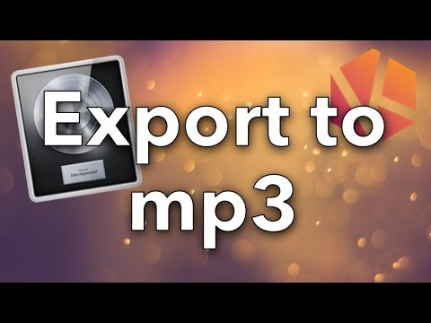 Xxx Mp4 How To Export Songs To Mp3 In Logic Pro X Tutorial 3gp Sex
