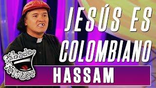 Hassam tiene 15 pruebas para demostrar que Jesús era colombiano | Sábados Felices