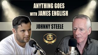 James English meets Gangster Johnny Boy Steele on the anything goes podcast show.