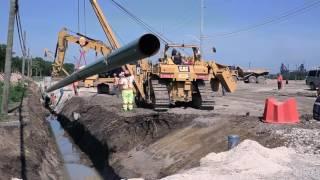 Union Gas Pipeline Installation