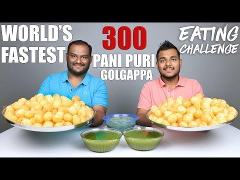 Xxx Mp4 300 PANI PURI GOLGAPPA EATING COMPETITION Pani Puri Challenge Food Challenge 3gp Sex
