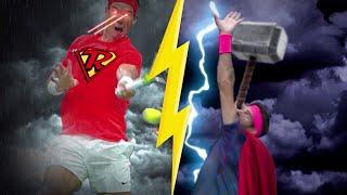 2017 US Open: The Superheroes Take The Court