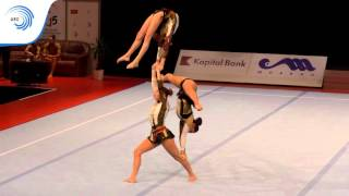 Women's Group BELGIUM – 2015 All-Around Acrobatic European Champions