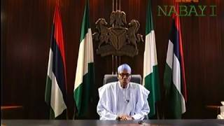 FULL Speech Of President Muhammadu Buhari in Democracy Day/One Year In Office.