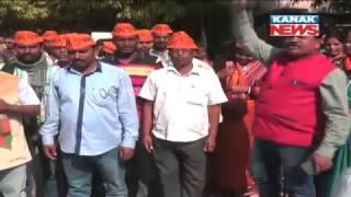 Politics Hit Up Ahead Of Panchayat Poll With Poster War