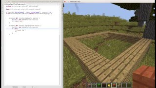 Minecraft LIVE easy coding custom mod plugins YOURSELF