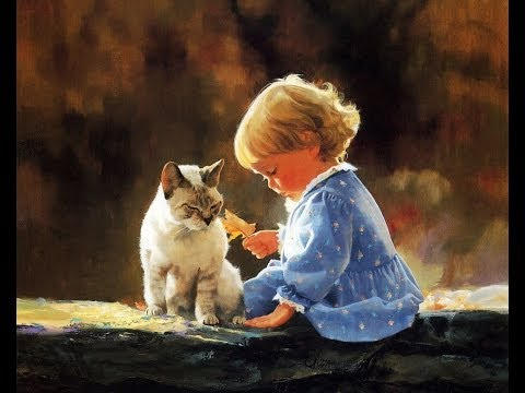 Donald Zolan and His Paintings of Lovely Children
