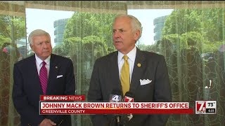 Sheriff Johnny Mack Brown Appointed