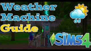 The Sims 4 Seasons: Weather Machine Guide
