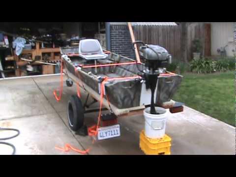 Briggs & Stratton 7 HP Outboard Conversion Part 2