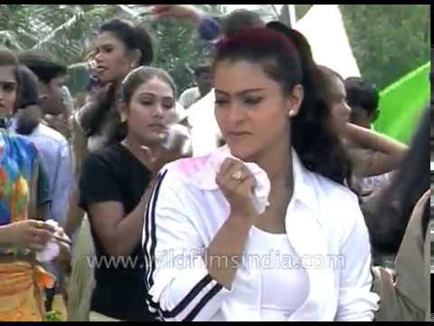 Xxx Mp4 Actress Kajol Ganesh Shoot A Bollywood Dance Sequnce 3gp Sex