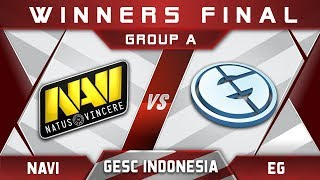 EG vs NaVi Winners Final GESC Indonesia 2018 Minor Highlights Dota 2