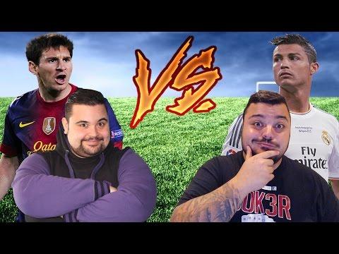 CiccioGamer89 e Messi VS Ronaldo e J0k3R