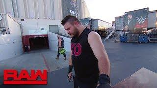 Braun Strowman destroys Kevin Owens' car: Raw, June 25, 2018