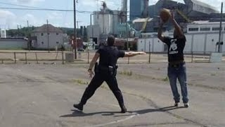 Why This Police Officer Played Basketball With Teenager In Park