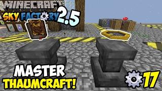 ELANDA MASTER THAUMCRAFT?? ~ Minecraft Sky Factory Indonesia ep. 17
