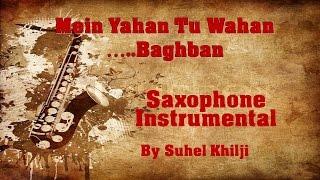 Mein yahan tu wahan | Baghban | Amitabh -Hema | Saxophone Instrumental