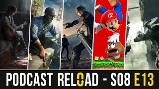 Podcast Reload: S08E13 - PlayStation Experience, The Last Guardian, Mario Run, FFXV...