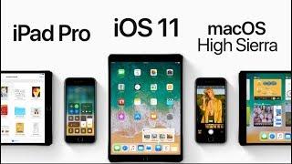 iOS 11 ve iPad Pro 10.5 (WWDC