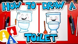 How To Draw A Toilet