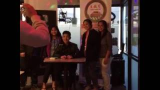 Meet & Greet with Darren at The Page Pub & Eatery (11-07-2016)