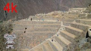 Ollantaytambo, Peru in 4K