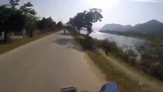 Motorbike trip through central Vietnam (Creedence Clearwater Revival - Fortunated Son)