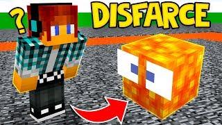 ESCONDE-ESCONDE COM DISFARCE DE LAVA !! - Minecraft