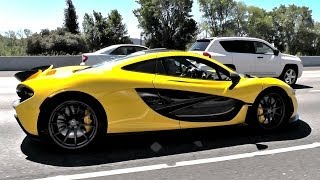 Jay Leno's McLaren P1 out in the wild