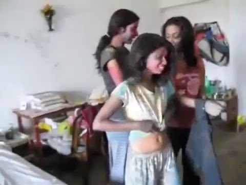 sexy hostel girls doing dirty things in holi