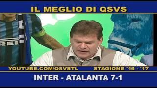 QSVS - I GOL DI INTER - ATALANTA 7-1 TELELOMBARDIA / TOP CALCIO 24