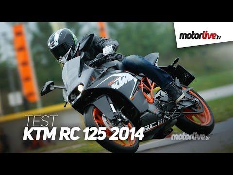 TEST KTM RC 125 la Duke entre en piste