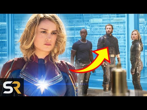 This Is How Captain Marvel s Post Credits Scene Ties In With Infinity War And Endgame