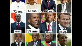 LES DICTATEURS INTERDIT À L'INVESTITURE SURTOUT SASSOU DENIS