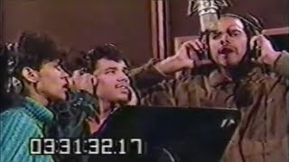 The Debarge family singing in the studio | RARE footage (1983)