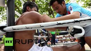 Thailand: Prisoners fight it out for champion title