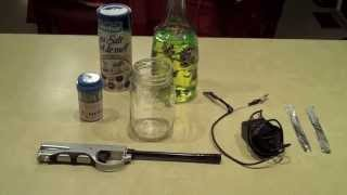 How to Make Hydogen Gas with Water- EASY