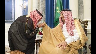 صاحب السمو الملكي الاميرعبدالعزيز بن سعود بن نايف يؤدي القسم وزيرا للداخلية