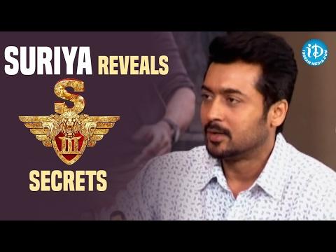 Suriya Reveals Singam 3 Secrets   Suriya Interviews ADGP CV Anand