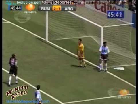 Resumen Rumania vs Argentina Estados Unidos 94 Mundial Retro