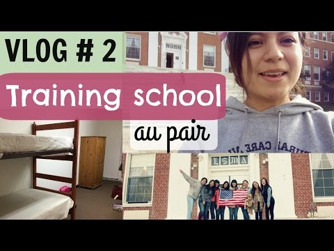 Au pair vlog #2 cultural care training school.